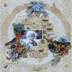 The Heart Sees **C'est Magnifique September Kit**