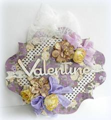 Valentine Card **Manor House Creations**