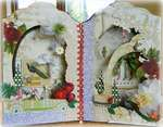 Altered Frame **Webster's Pages Royal Christmas**