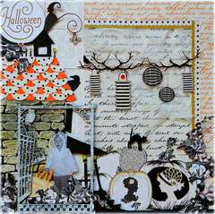 Halloween **Webster's Pages Blog Hop**