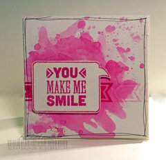 CARD - You make me smile