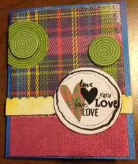 Love, Love, Love Card