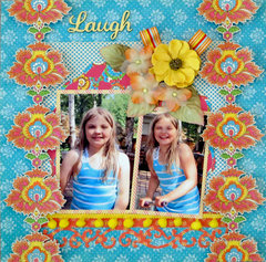 Laugh **Scraps of Darkness** July Sketch Challenge