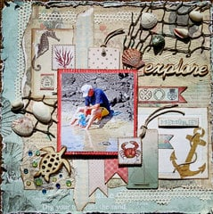 Hawaii Explorer **Scraps of Elegance** - DT May Cape Holiday Kit