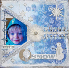 Let It Snow **Scraps of Darkness** January Round Robin, Week 2