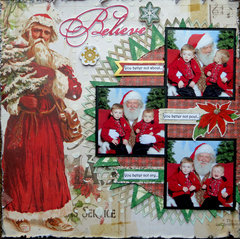 You Better Not Cry **Scraps of Elegance** DT December Kit