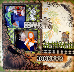 Little Ghouls **Scraps of Darkness** Morticia's Wish Oct Sketch Challenge