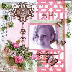 Spanish Freckles **Scraps of Elegance** DT April Kit