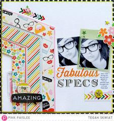 Fabulous Specs **Pink Paislee**