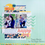 Hello Happy Day layout