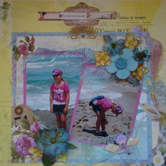 Follow your dream**Scraps of Elegance** April Possibility Kit