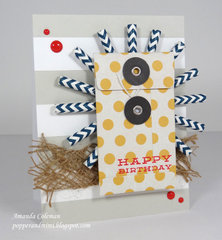 Nautical Inspired Birthday Card