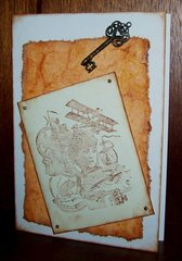 Card - Steam punk