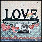 Love w/ Carta Bella Rough n Tumble