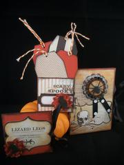 Halloween Tags and pockets