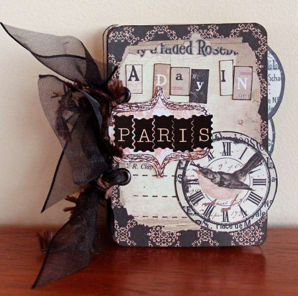 Other paris mini album published in australian scrapbook - Magasin de scrapbooking paris ...