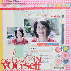 believe in yourself *American Crafts*