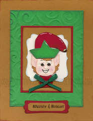 Santa's Little Helper Card