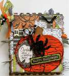Halloween spooktacular mini book album