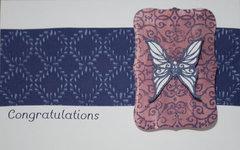Butterfly Congratulations