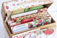 Recipe Box featuring Country Kitchen from Farmhouse Paper Company