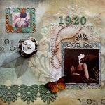 1920 ~ Lindy's sprays & Tresors de Luxe lace ~