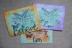 Believe, Hope, Faith