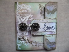 LOVE Tag Card