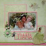 Rapunzel meets Tiana