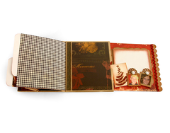 Christmas Memories Paper Bag Album