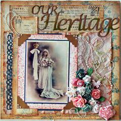 Our Heritage - Swirlydoos Ultimate Design Challenge Week 2