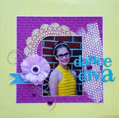 Dance Diva *Scrappin' Sports & More*