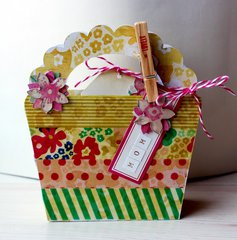 Basket Gift Card Holder