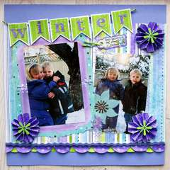 Winter **We Scrap December Kit**