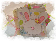 Hoppy Easter Paper Bag Album