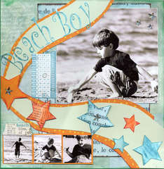 Beach Boy - Creating Keepsakes Oct. 2007