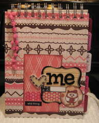 Altered Owlie Mood journal