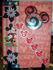 08 Monthly Planner - Mickey Mouse