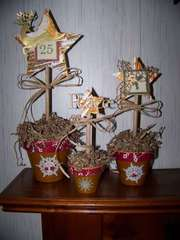 Christmas Topiaries *