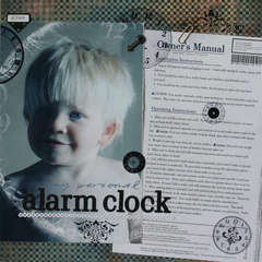 My Personal Alarm Clock ~ Lucky 7 ~