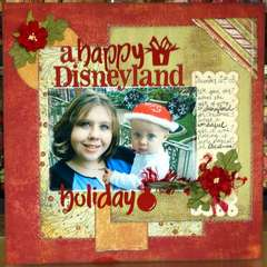 A Happy Disneyland Holiday