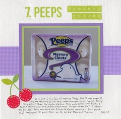 43 New-to-Me: #7 Peeps Mystery Chicks