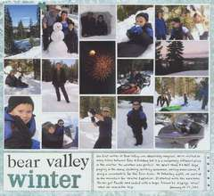 Bear Valley Winter