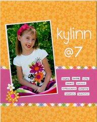 Kylinn at 7