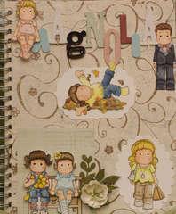 Magnolia Stamps Book