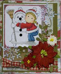 snowy hugs