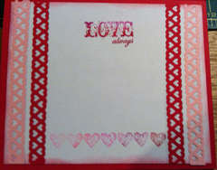 Valentine's Center Step Card - Inside