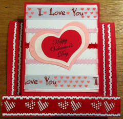 Valentine's Center Step Card