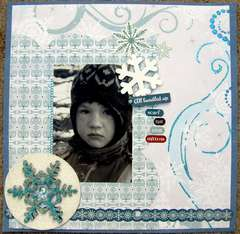 ScrapShotz December kit - all bundled up