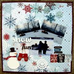 ScrapShotz December kit - Snow Fun